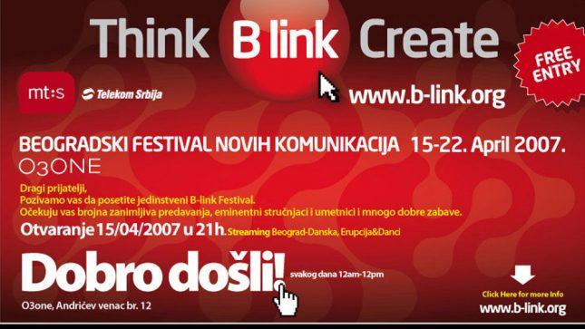 Beogradski festival novih komunikacija, B-link 2007