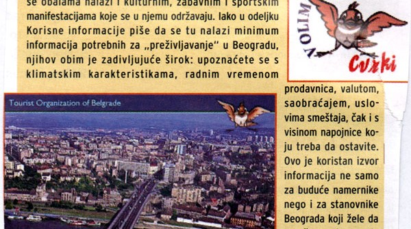 Vodič kroz Beograd