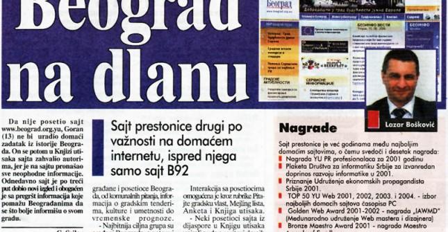 Beograd na dlanu