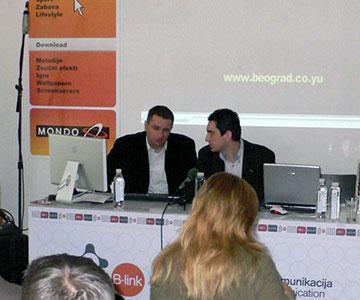 Promocija internet portala Beograda
