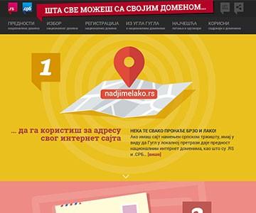 Internet sajt www.domen.rs