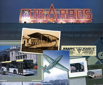 Ikarus – Ikarbus, 1923-1998.