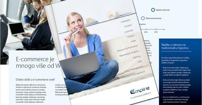 """Katalog za e-commerce platformu """"Empire"""""""