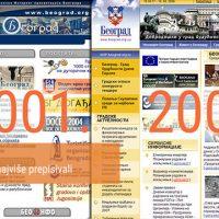 Sajt Beograda ponovo među 50 najboljih