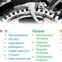 Internet sajt – zanimacija za sve sektore firme
